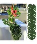 24pcs Artificial Tropical Palm Leaves Party Wedding Hawaiian Halloween - $16.90