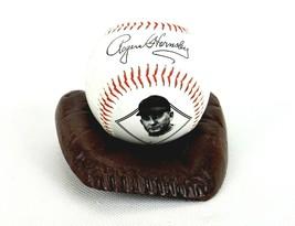 Cast Iron Baseball Glove, Game Ball Display Holder, Dresser Tray, Trinke... - $19.55