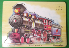 Melissa & Doug Train Sound Puzzle - Wooden Puzzle With Sound Effects  - $16.95