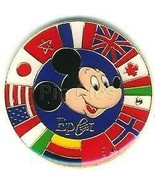 Epcot - Mickey with Circle of   Authentic  Disney pin - $12.99