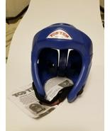 Top Ten Avant Garde Head Guard - Blue Medium - Martial arts, kickboxing ... - $54.86