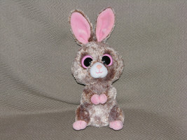"Ty Beanie Boos WOODY Rabbit Bunny UK Exclusive 6"" Stuffed Plush Bean Toy... - $31.67"