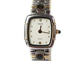 Auth RADO White Dial Stainless Steel Women's Quartz Watch RW12334L - $198.00