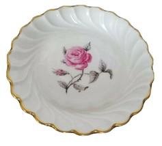 Haviland Limoges France Coaster Saucer Bagatelle pattern Rose scalloped ... - $19.99