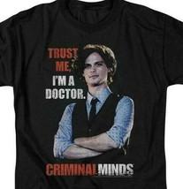 Criminal Minds t-shirt Spencer Reed TV crime drama series graphic tee CBS1601 image 2