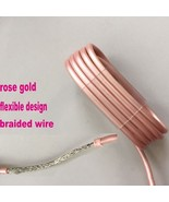 Rose gold Lightning USB Charging Cord Date Sync Cable for iPhone 5 5s 6 ... - $20.55