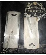 Sears Minnesota A (Davis E) Front & Rear Slide Plates Great Condition - $25.00