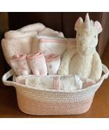 Olivia Unicorn Baby Gift Basket - $72.00