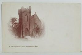St Paul's Lutheran Church Minneapolis Minnesota Postcard P4 - $5.95