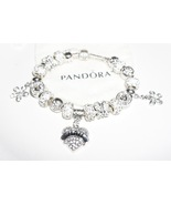 Crystal love Jared Pandora Bracelet - $129.00