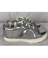 Jessica Simpson Aurore Jeunesse Tout-Petit pour Filles Argent Shoes Tail... - $18.19