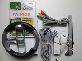Nintendo Wii Console bundle Lot Video Game System W/Game - Tested & Work... - $69.99
