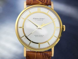 Men's Citizen Homer Phynox 35mm Manual Wind Dress Watch, c.1960s Vintage J738 - $771.21