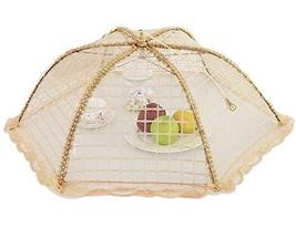 Kitchen Supplies Lace Round Cover Foldable Food Cover/Tent Coffee(70cm) - $19.73