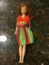VINTAGE SKIPPER Brunette/Brown Hair Straight Leg 1963 Japan Mattel Inc Doll - $61.69
