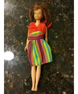 VINTAGE SKIPPER Brunette/Brown Hair Straight Leg 1963 Japan Mattel Inc Doll - $64.95