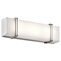 Kichler 45801CHLED Impello Bath Lighting 18in Chromes Tones GLASS - $299.99
