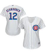 Chicago cubs kyle schwarber majestic women s cool base player jersey   mlb thumbtall