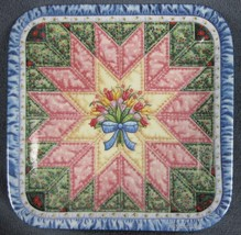 The Star Cherished Traditions Mary Ann Lasher Collector Plate Bradford Q... - $24.95