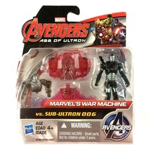 "War Machine Avengers Age of Ultron 2.5"" Action Figure Marvel New 2015 Ha... - $13.07 CAD"