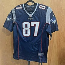 New England Patriots Rob Gronkowski #87 NFL Football Jersey Top Nike Me... - $69.98