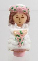 1989 Polly Pocket Doll Bridesmaid Polly - Nancy Bluebird Toys - $7.50