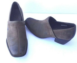 Born Womens Slip On Shoes Brown Leather Sz 7 38 - $17.59