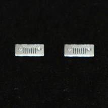 Silver Jeep Stud Earring - $35.00