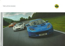 2011 LOTUS RANGE hardcover BOOK brochure catalog EVORA EXIGE ELISE 2-ELE... - $25.00