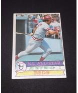 1979 Topps Johnny Bench Cincinnati Reds #200 Baseball Card - $0.98