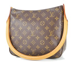 Authentic LOUIS VUITTON Looping MM Monogram Shoulder Tote Bag Purse #34359 - $495.00