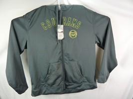 New Ncaa Colorado State Rams Csu Full Zip Jacket With Hood Xxl - $40.77