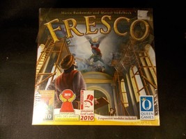 Fresco from Queen Games (2010) Marco Ruskowski and Marcel Subelbeck BRAN... - $42.06