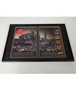 Street Fighter Alpha 1996 PS1 12x18 Framed VINTAGE Advertising Display - $69.29