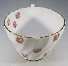 Vintage Aynsley Porcelain Tea Cup Hathaway Bone China Pink Roses England image 3
