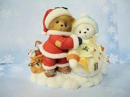 Cherished Teddies Santa Series 2009 Scott & Sheila  NIB - $60.34