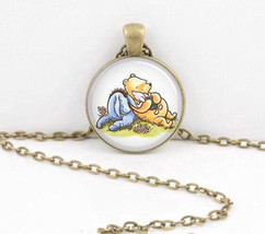 Winnie POO-POO Cabochon Necklace >> Combined Shipping << (6718) - $2.96