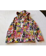 The Children's Place Girl's Long Sleeve Fleece Hoodie S 5/6 Pink Multi NWT - $24.74