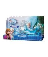 Disney Frozen Swirling Snow Sled Gift Set Elsa & Anna Playset New - $18.91