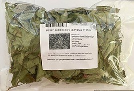 RAGARDEN ORGANIC DRIED BLUEBERRY LEAVES. 2 oz. Harvested in USA. - $21.44