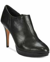 NWT VINCE CAMUTO BLACK LEATHER PLATFORM BOOTIES  SIZE 7 8 8.5 9 9.5 M $129 - £34.31 GBP+