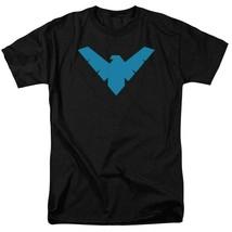 DC Comics Batman Logo T-shirt Retro Comics Justice League Graphic Tee BM2182 image 1