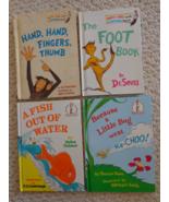 Dr. Seuss 4 Children's Hardcover Books (#1418) - £17.65 GBP