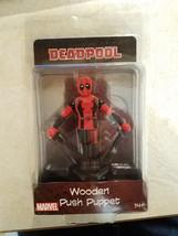 "2017 Marvel Comics Deadpool Push Puppet Entertainment Earth 4"" -Read Auction - $9.99"