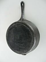 "ANTIQUE WAGNER'S 1891 ORIGINAL CAST IRON COOKWARE 10 1/2"" CHICKEN FRYER - $148.49"
