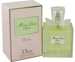 Christian Dior Miss Dior Cherie L'eau Perfume 3.4 Oz Eau De Toilette Spray  image 3