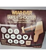 PREOWNED 70123 WEAR-EVER SUPER SHOOTER COOKIE PRESS COMPLETE IN BOX/o - $34.64