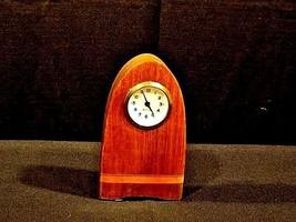 Mercedes Mantle Wooden Clock AB 125 Vintage image 2