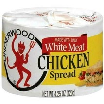 Underwood Chicken Spread Made with White Meat 4.25 oz ( Pack of 12 ) - $36.45