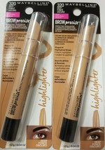 2 Maybelline Brow Precise Perfecting Highlighter 320 Deep - $8.59